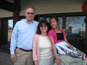 Ray, Barb, & Rachel