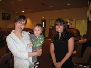 Megan, Karl, & Mary