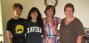 Laurel, Amy, me, Jane