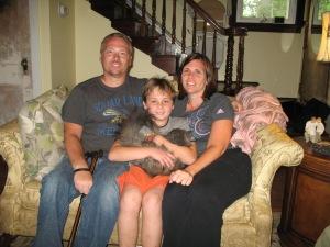 Allen, Connor, & Becky - Allen & Becky are Laurel's godparents.