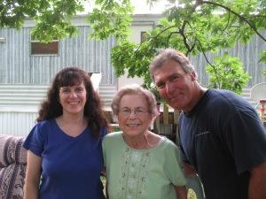 Amy, Mom, & Ron
