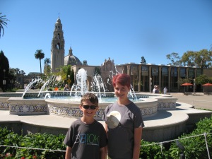 This fountain and the nearby gorgeous museums and restaurants at Balboa Park were built in Spanish-Renaissance style.