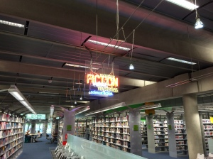 The Phoenix Library - near downtown - with a modern look inside and out