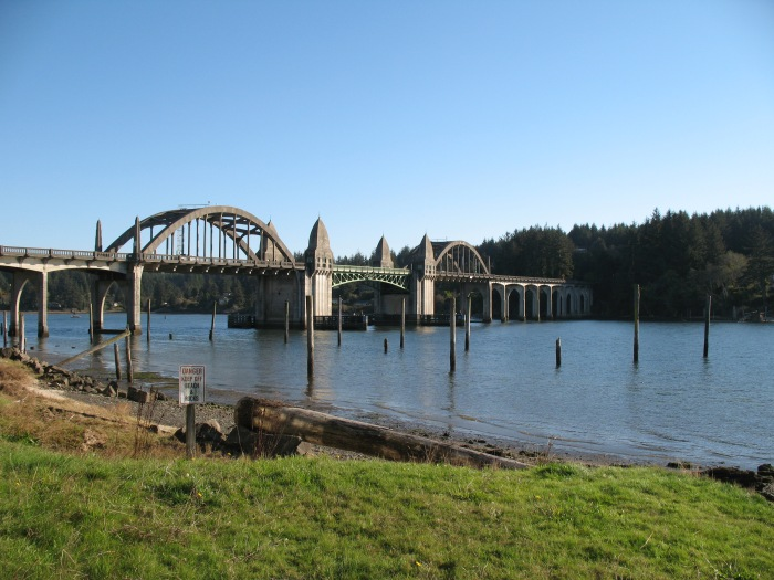 Bridge in Florence, Oregon