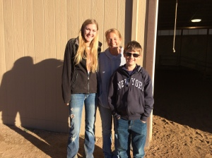 We hiked at Palmer Park and stopped at the stables where Charlie had done therapeutic riding for about three years.  He was very happy to see Jamie and Nancy.