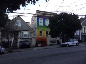 "Laurel said, ""You know you're in the Castro when..."""