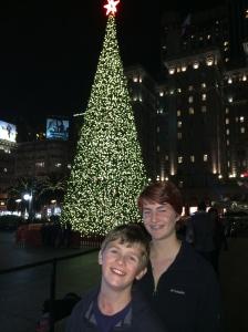 Macy's tree, Union Square