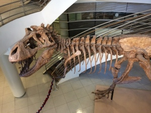 T-Rex at University of California at Berkeley, Life Sciences Building