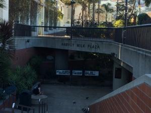 Light rail station in The Castro neighborhood