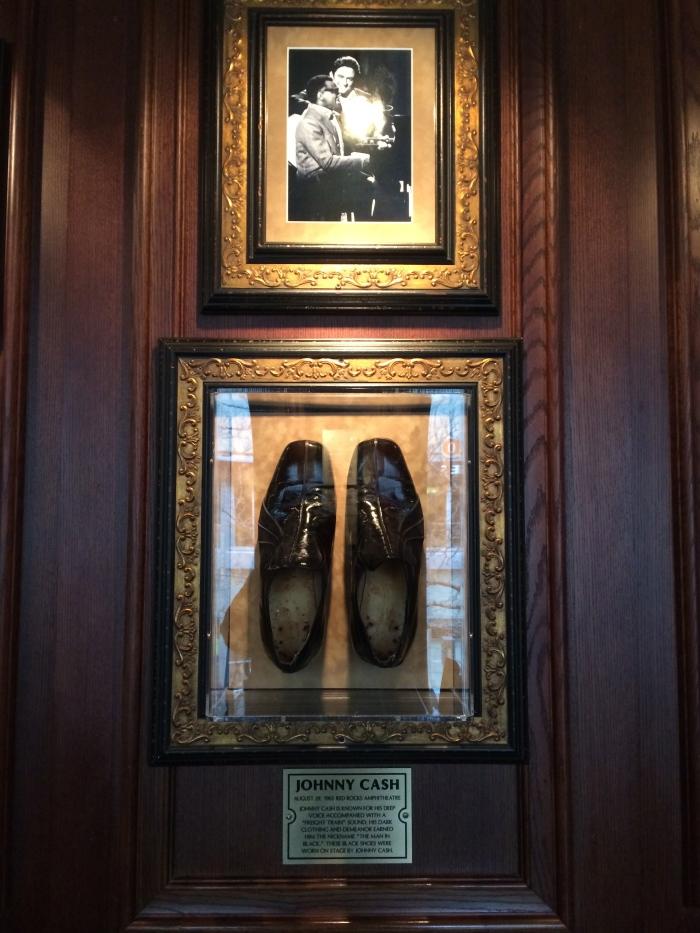 Johnny Cash shoes