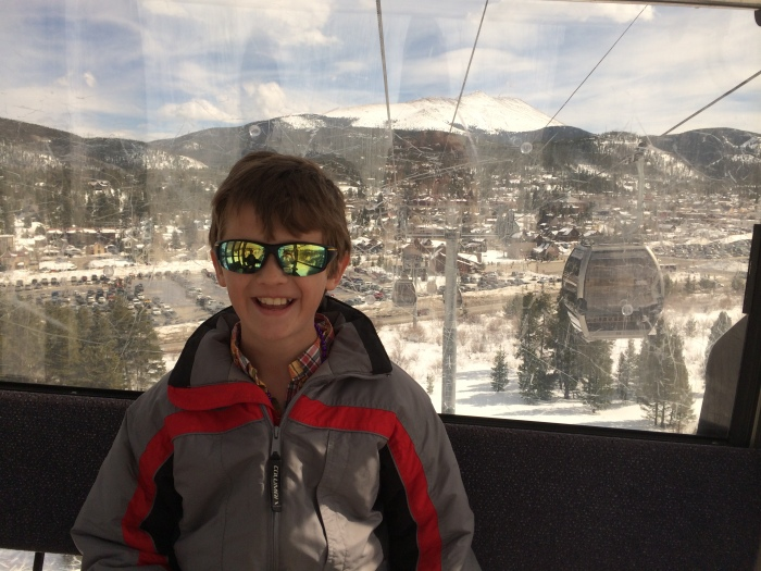 On the gondola :-)