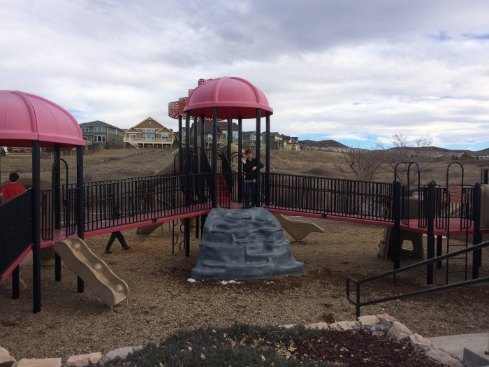 Revisiting our old stompin' grounds - Paintbrush Park in the Meadows, Castle Rock