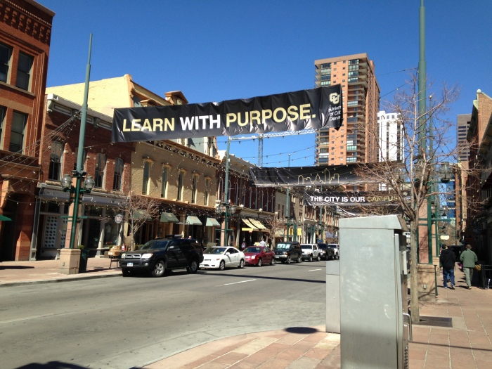 Larimer Square in Denver