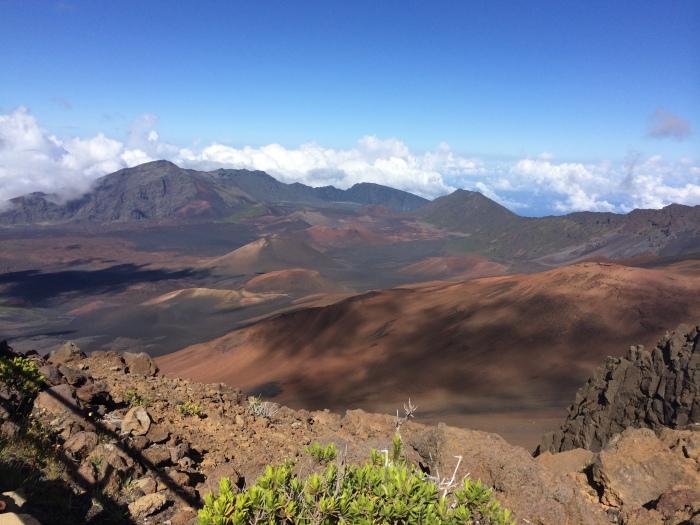Haleakala Volcano