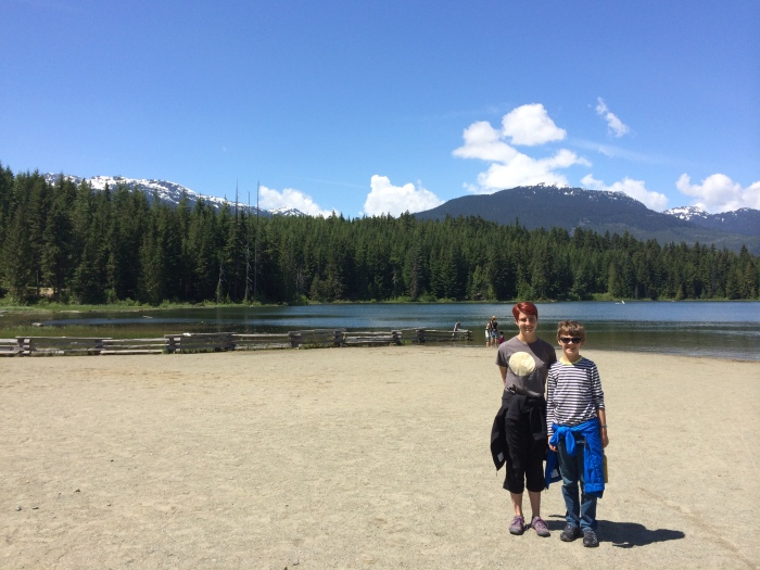 Lost Lake - about a mile's walk from our timeshare