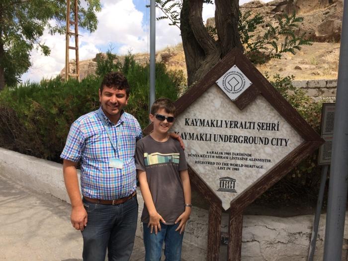 Our Kaymakli tour guide
