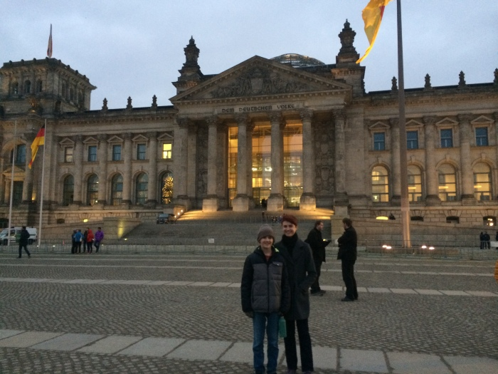 The Reichstag building where Germany's Parliament, the Bundestag, meets
