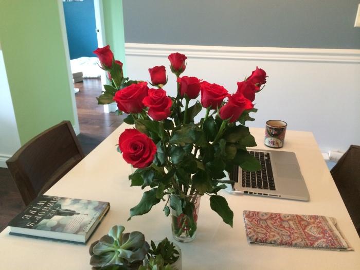 Roses from John