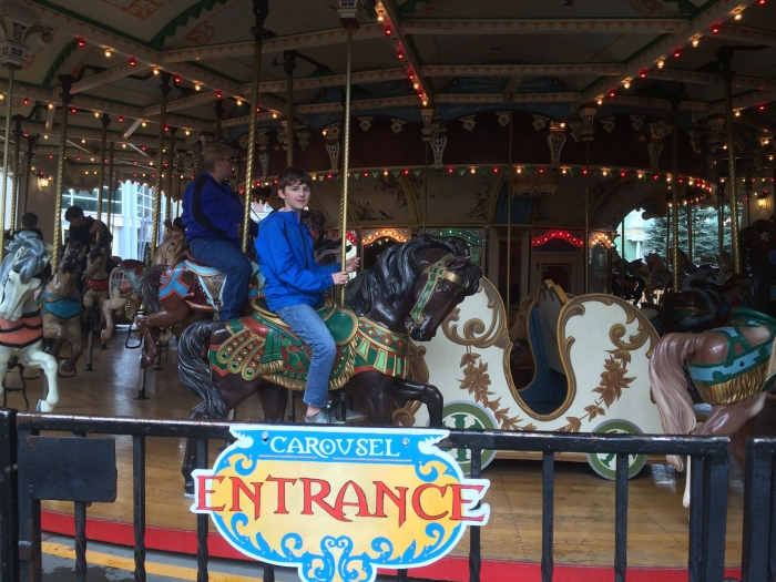 I bought discount tickets for Elitch Gardens (amusement park) through a homeschool organization.  Of course, homeschool day ended up being cold and rainy, but that meant short lines for the rides (after the storm passed)!
